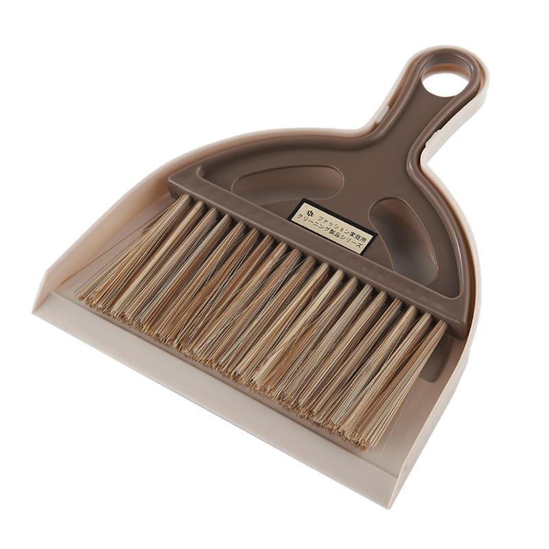 Mini Household Dustpan Brush Set Broom Dustpan Kit Home Desktop Cleaning Brush for Home Hotel Use Household Cleaning Tools
