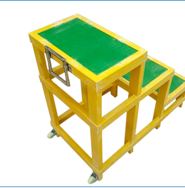 Manufacturers Direct Selling Insulated Stool Fiberglass Insulation Different Height Display Stool Insulation Platform Double Lay