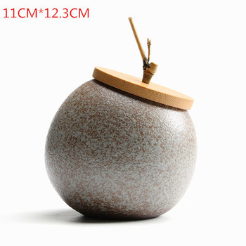 JIA-GUI LUO Ceramic tea box dried fruit storage tank sealed bottle tea accessories home sealed cans receive gifts D063 12