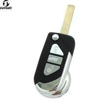 3 кнопки дистанционного управления брелоком чехол для Citroen DS3 для Puegeot Uncut HU83 лезвие с пазом