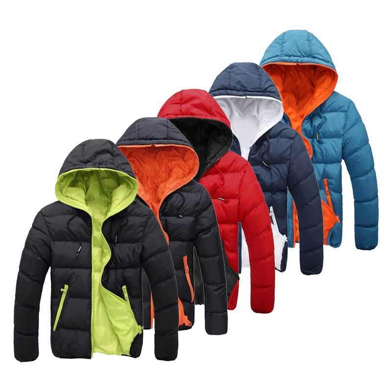 ฤดูหนาวเสื้อผู้ชายคุณภาพสูงหนาอบอุ่นลงเสื้อแจ็คเก็ตผู้ชายSnow Parkasเสื้อโค้ทWARMเสื้อผ้าแบรนด์บุรุษouterwear