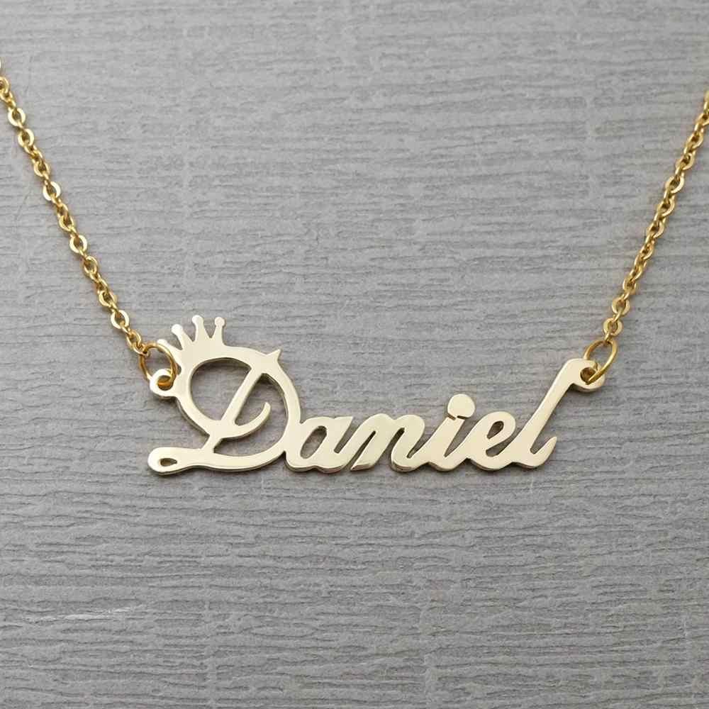 Kişiselleştirilmiş adı kolye, özel adı kolye, özel takı, özel kolye, kişiselleştirilmiş adı, özelleştirilmiş hediye onun için