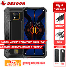 Doogee S95 Pro 6.3 ''Layar Modul Kasar P68/IP69K Ponsel Helio P90 Octa Core 8GB 128GB 48MP Android 9.0 4G Smartphone(China)