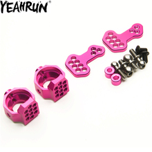 YEAHRUN Alloy Steering Front Knuckle Split Steering Cup for 1/10 Sakura D4 AWD RWD Remote Control Car Upgraded Parts