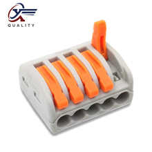 30/50/100 PCS/lot PCT-215/ 222-215 mini fast wire Connectors Universal Compact Wiring Connector push-in Terminal Block 30 50 100 pcs lot pct 214 color 222 214 mini fast wire connectors universal compact wiring connector push in terminal block