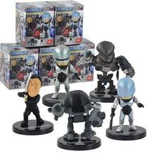 5 шт./лот фигурка Робокопа, игрушечный робот, полицейский с пистолетом, мечом, модель оружия, куклы