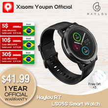 2021YoupinHaylou RT LS05S Smartwatch Newest Version Blood Oxygen Monitor Sport Watch IP68 Waterproof for Women Men IOS Android