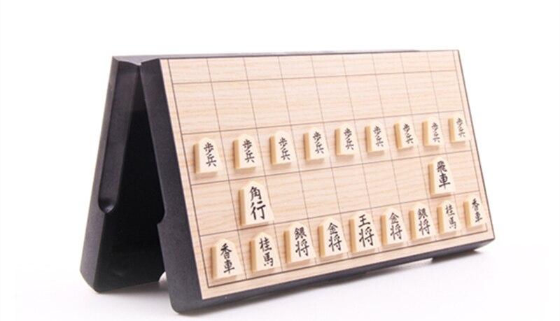 Novo jogo de xadrez dobrável shogi shogi