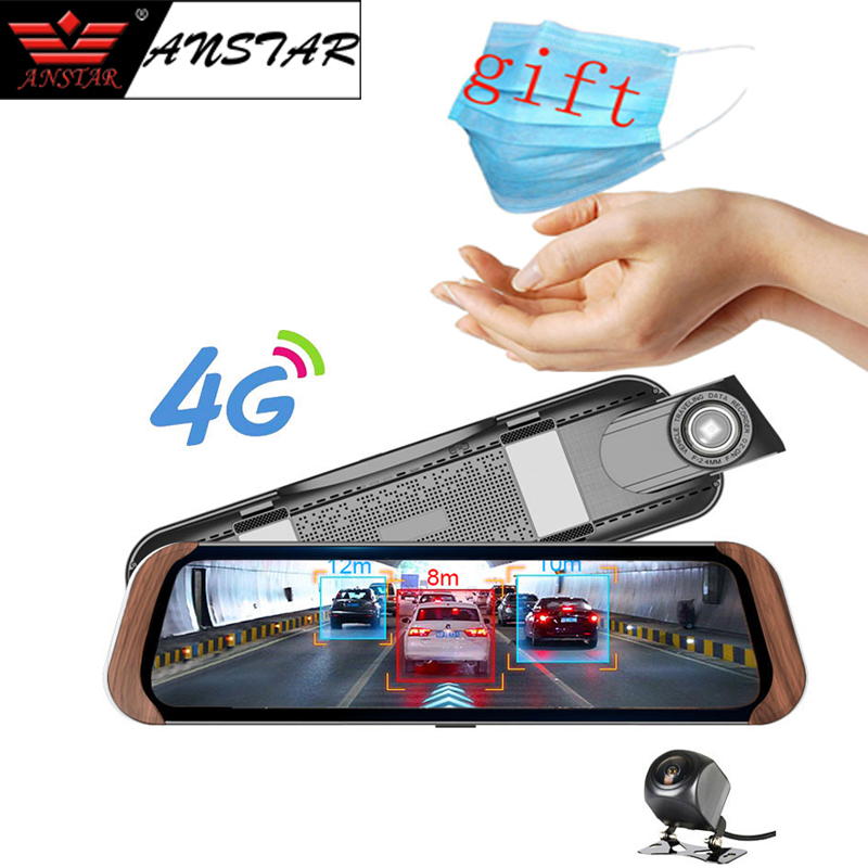 ANSTAR 4G Android Rearview Mirror <font><b>Camera</b></font> 10