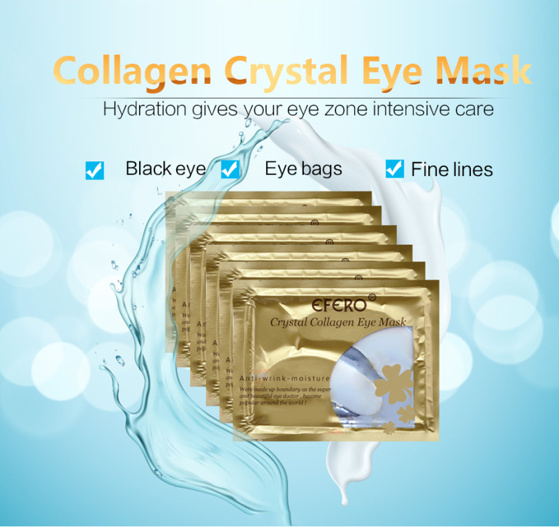 Collagen Anti-aging Eye Mask Anti-Puffiness Gel Eye Patches For Eye Bags Wrinkle Dark Circles Eye Pads Face Mask Eyes Care TSLM1