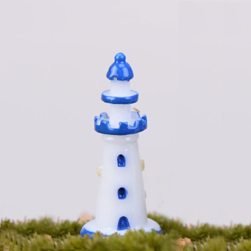 ZOCDOU цельнокроеное платье световой маяк, Сигнальный Огонь море Pharos модель небольшая статуя Будды фигурка фигурный орнамент миниатюры «сдел...