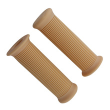 Rubber Handle Grip 22mm Universal Motorcycle Vintage Handle Handlebar Grip Universal fit for most cafe racer grips motorcycles vodool 2pcs rubber motorcycle grip 22mm motorcycle vintage handlebar grip for all motorcycle high quality cars styling