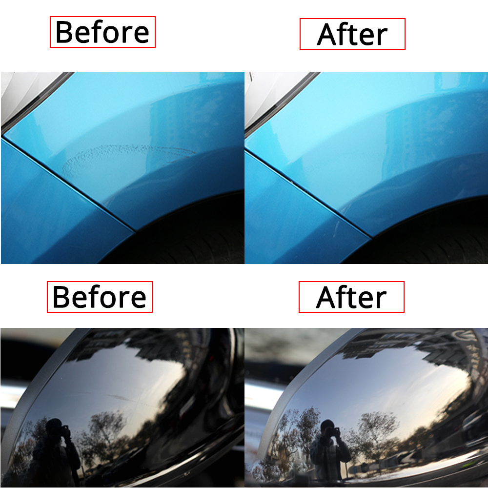 Car Wax Styling Car Body Grinding Compound MC308 Paste Set Scratch Paint Care Shampoo Auto Polishing Car Paste Polish Cleaning 6