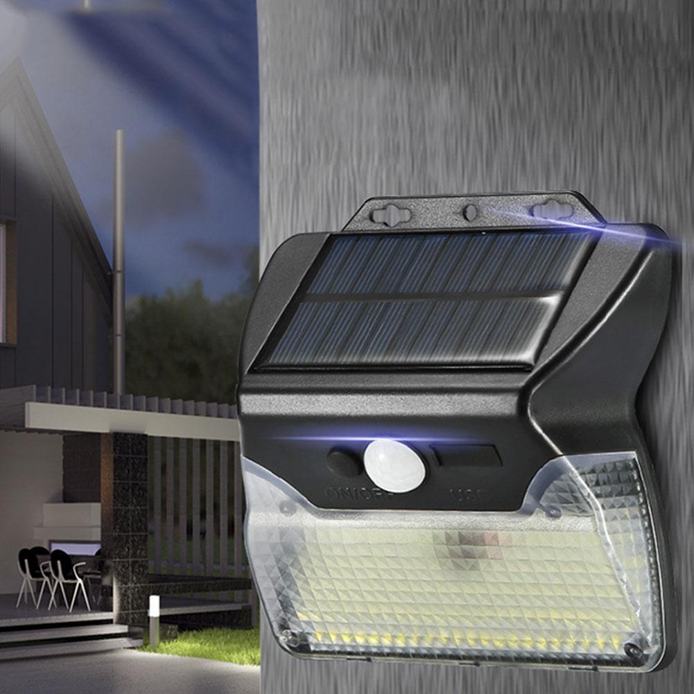 Kualitas Tinggi Baru Led Solar Light Motion Sensor Lampu Jalan Taman Lampu Taman Lampu Dinding Portable Instalasi Lampu Dinding Luar Aliexpress