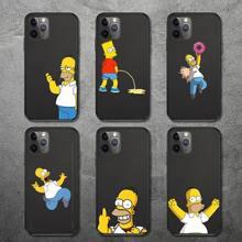 Funny Homer fashion J SImPsoN cartoon Phone Case for iPhone 12 11 mini pro XS MAX 8 7 6 6S Plus X 5S SE 2020 XR