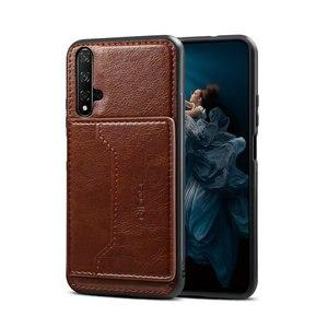 Чехол-накладка для Honor 20, роскошный кожаный чехол-бампер для Huawei Honor 20 s, Honor 20 Pro, Honor 20 Lite, 10 Hono, 10i, 20 s