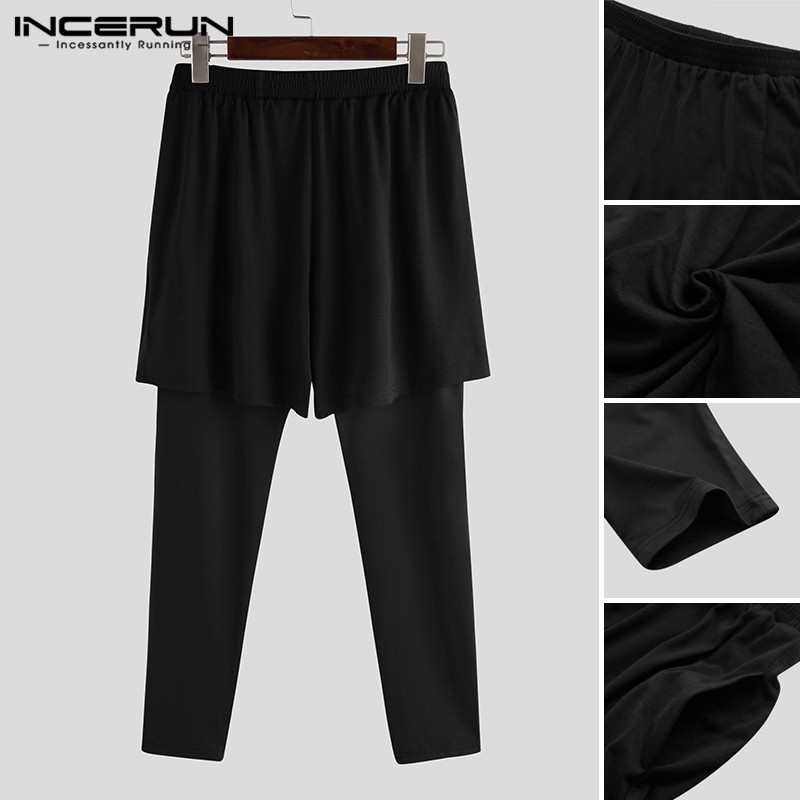 INCERUN Sport Jogging Pants Men Running Fitness Joggers Training Trousers Exercise Gym Long Pant Outdoor Active Wear Sportswear