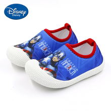Disney Boy Baby Shoes Marvel Spiderman Kids Shoes 1-3 Years Old Infant Soft-soled Cloth Shoes Children's toddler shoes  AY123364