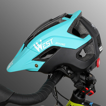 WEST BIKING bicycle electric riding helmet men and women mountain bike helmet riding cap bike bicycle helmet riding equipment
