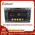 Автомагнитола Eunavi, 2 Din, Android 10, GPS, для Opel Astra Vectra Antara Zafira Corsa Vivaro Meriva Veda, аудио, 4G, без DVD