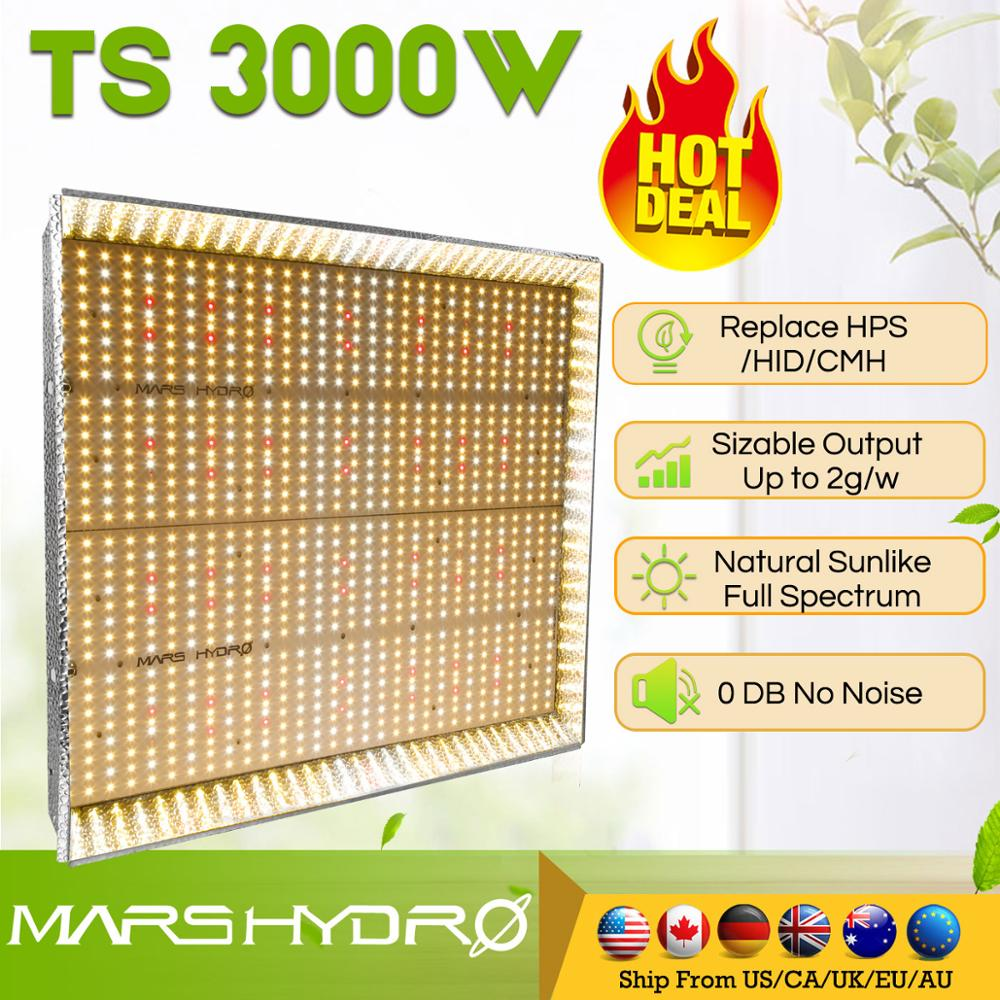 Newest Mars Hydro TS 3000W LED Grow Light Full Spectrum Veg Flower For All Stage Plant