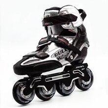 2019 الأصلي سيبا KSJ رصاصة المهنية Slalom حذاء تزلج بعجلات ألياف الكربون الأسطوانة أحذية التزلج Slding التزلج الحرة Patines