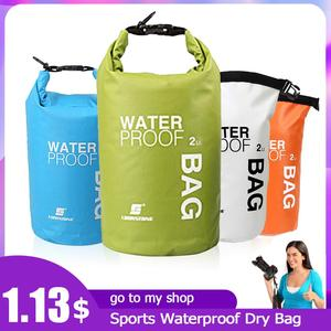 Sports Waterproof Dry Bag Backpack Floating Boating Rafting Bag Ultralight PVC Backpack Swimming Storage Bag Travel Kits 2/15L