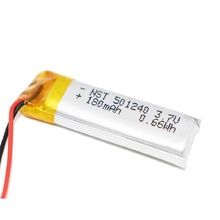 Rechargeable-Battery Psp Bluetooth 501240 Headphone Lipo for Mp3 MP4 MP5 GPS Electronic-Part