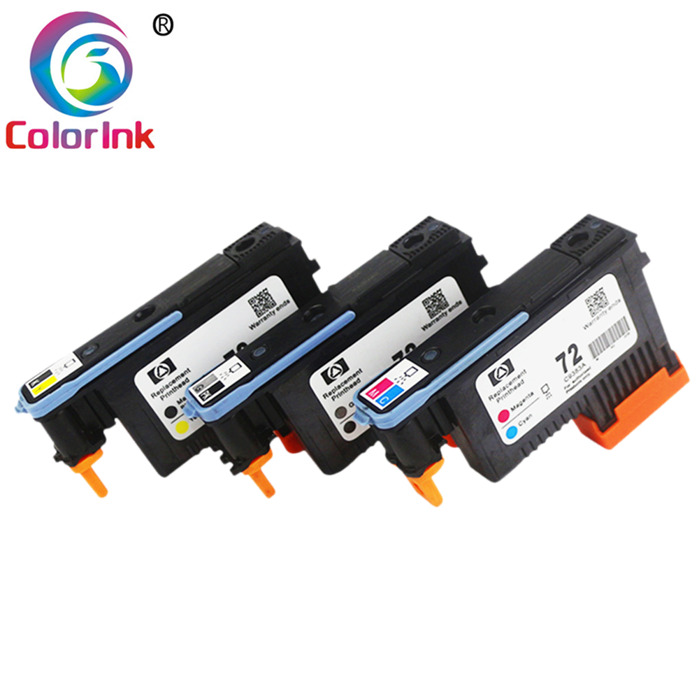 ColoInk Hp 72 プリントヘッド C9380A C9383A C9384A Hp Designjet T610 T620 T770 T790 T795 T1100 T1120 t1200 プリンタ
