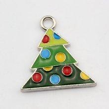 Горячая распродажа! 10 шт многоцветный эмаль Рождественская