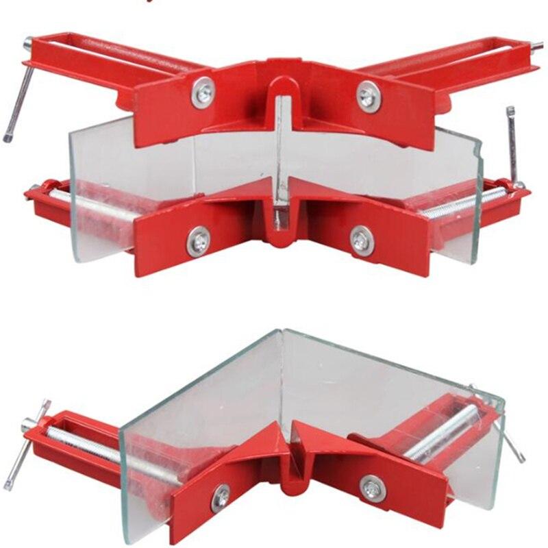 90 graus ângulo direito grampos alternar braçadeira para carpintaria quadro de imagem de vidro dispositivo elétrico carpinteiro ferramenta mão