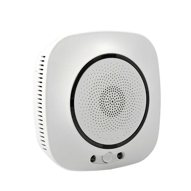 Tuya WiFi Smart CO газовый датчик, углекислый газ, отравление, утечка, детектор пожарной безопасности, сигнализация, приложение, контроль, домашняя система безопасности
