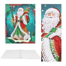 DIY Santa Claus Special Shaped Diamond Painting 50 Pages A4 Office Notebook painting school supplies for students