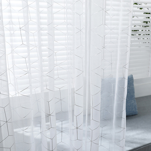 Europe White Yarn Curtain Wind