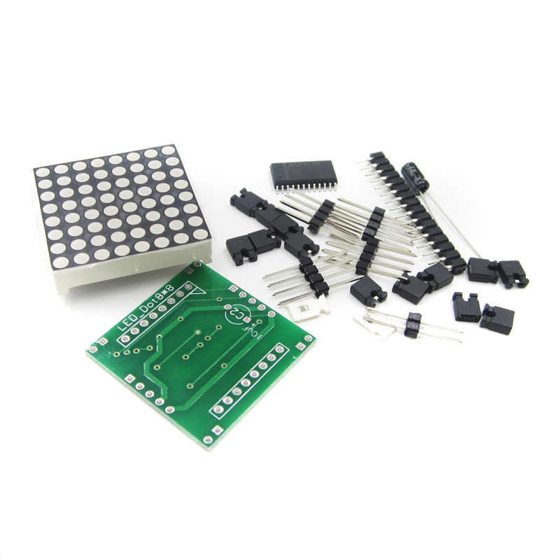 MAX7219 도트 매트릭스 모듈 제어 디스플레이 모듈 SPI For Arduino DIY kit 캐스케이드 diy electronics