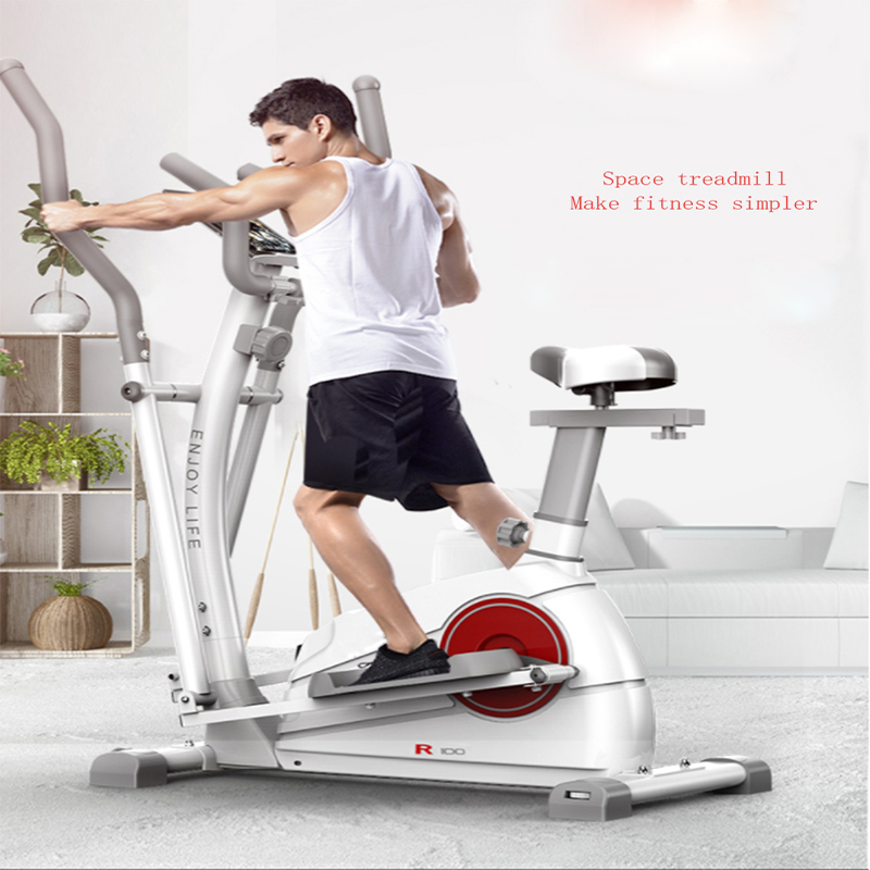 Home exercise bike, step bike, indoor aerial exercise machine, foot bike, weight loss magnetron fitness bike.