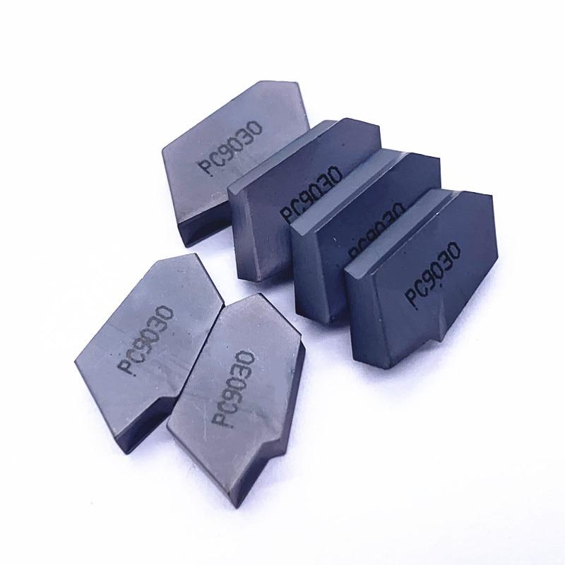 Купить с кэшбэком 20pcs SP400 NC3030 PC9030 NC3020 Grooving Carbide Inserts lathe cutter turning tool Parting and grooving tool Parting