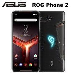Перейти на Алиэкспресс и купить original new asus rog 2 game phone 6.59дюйм. 8gb ram 128gb rom snapdragon 855+ nfc rog phone ii zs660kl 6000mah lte mobile phone