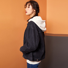 LEIJIJEANS new arrival Women's plus size 6XL long basic jacket