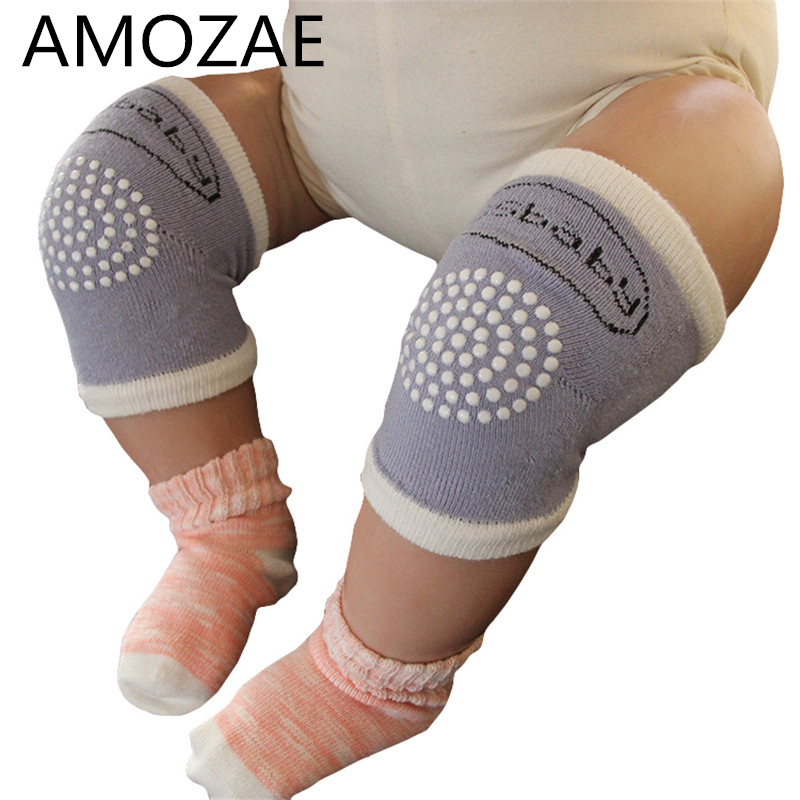 2019 New Kids Knee Pads Crawling Protector Cotton Baby  Kneecaps Children Cartoon Anti Slip Grils Boys Leg Warmers 6-18M