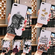 Stranger Things Smart Cover Soft Shell Phone Case for iPhone X XS MAX  6 6s 7 7plus 8 8Plus 5 5S SE XR 11 pro max wood floral soft silicone edge mobile phone cases for apple iphone x 5s se 6 6s plus 7 7plus 8 8plus xr xs max case