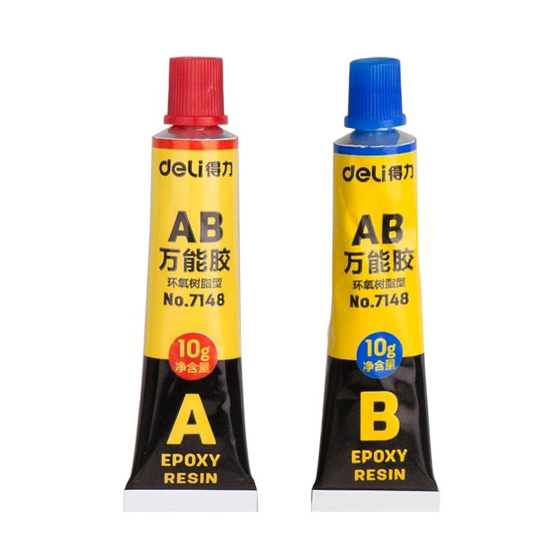 A+B Epoxy Resin Contact Adhesive Super Liquid Glue For Glass Metal Ceramic Plastic Wood Toy DIY Stationery Office School A6703