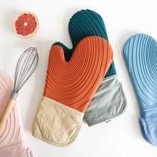 Силиконовые перчатки Новый стиль Толстые хлопковые Бытовая микроволновая