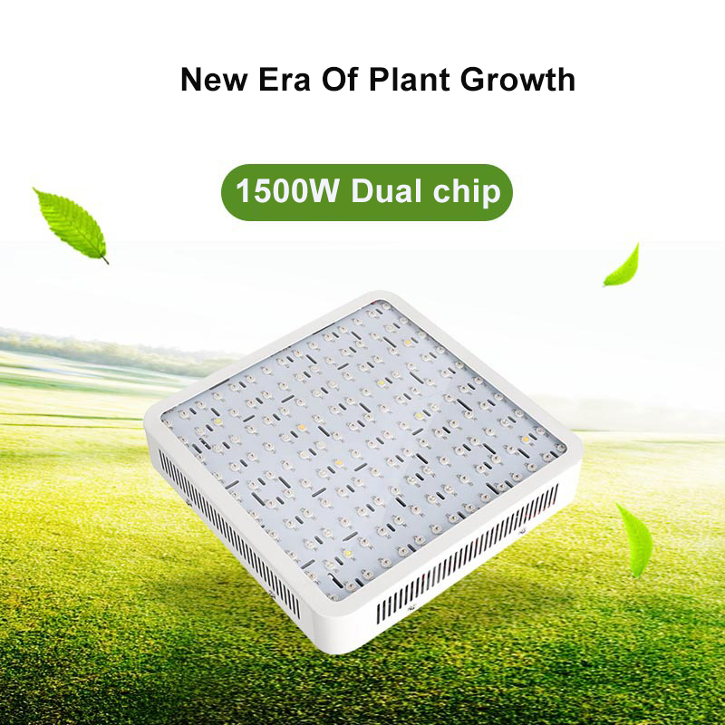 Square Double Chip Hanging Line Plant Light 1500W AC85 265V For Indoor Plant And Flower Grow LED Greenhouse Tent Hydroponics Sys in LED Grow Lights from Lights Lighting