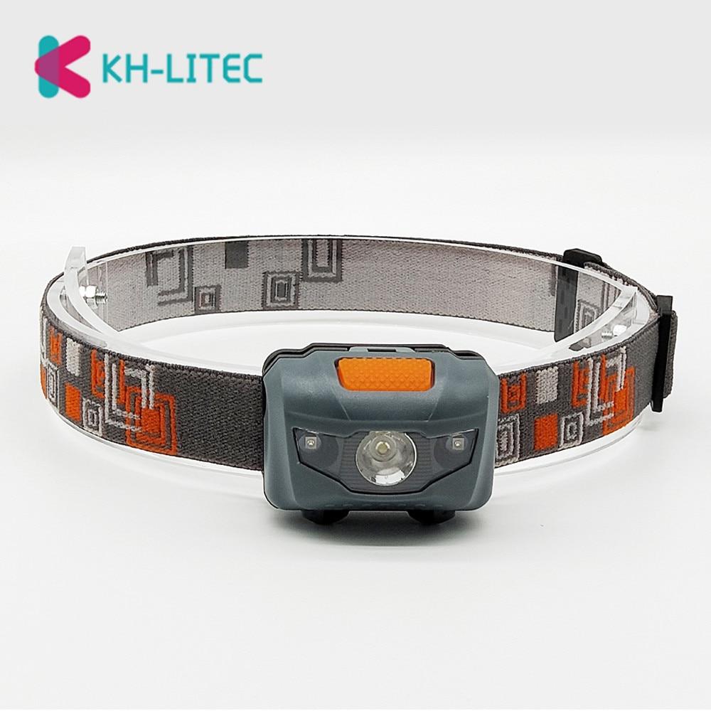 R3 LED Mini Headlamp Light Outdoor 800 Lumens 4 Modes Headlight Waterproof Head Flashlight Torch Lantern For Hunting Fishing