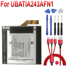 2600mAh Battery UBATIA243AFN1 For Sharp Aquos 304SH Mobile Phone+USB cable+toolkit(China)