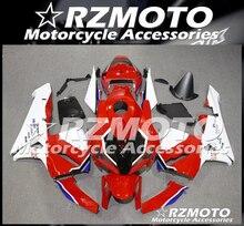 4 regali di Stampi Ad Iniezione Nuovo ABS kit Carenatura fit per Honda CBR600RR F5 2005 2006 05 06 600RR Carrozzeria set personalizzato Rosso Bianco