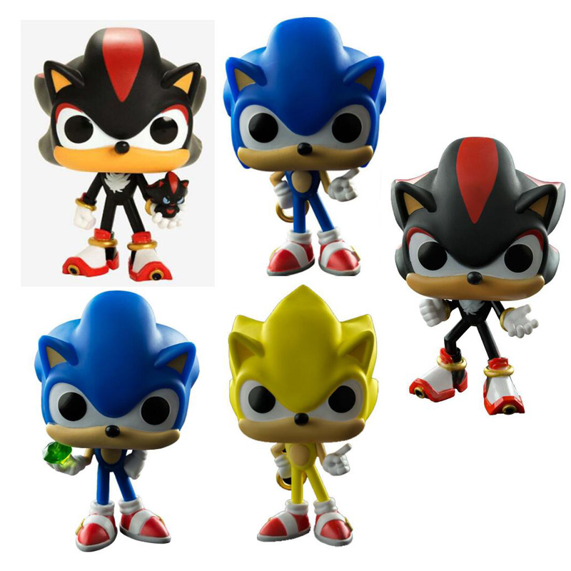 Game Super Sonic The Hedgehog Vinyl Dolls Figure Toys