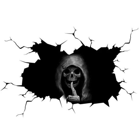 @ 55 счастливый Хэллоуин стикер на пол ужас наклейки на стену автомобиля стикер бесшумный домашний Череп Наклейка на окно Декор вечерние укр...