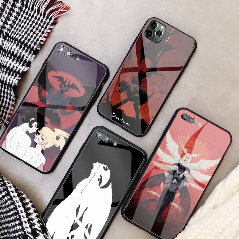Devilman Crybaby Phone Case Glass Coque For Iphone 11 12 Pro Max XR Mini 7 8 PLUS Cover|Phone Case & Covers| - AliExpress